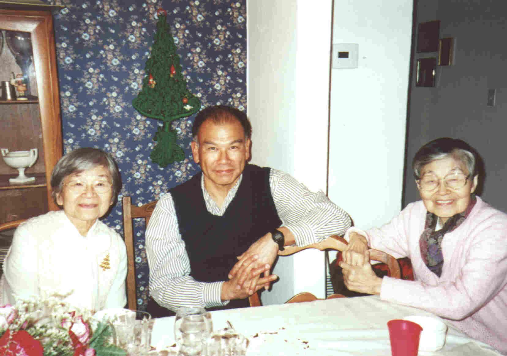 Tsuneko, Cosmo and Yasuko